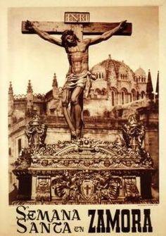 Cartel de la Semana Santa de Zamora