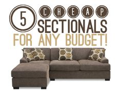 Cheap Sectionals