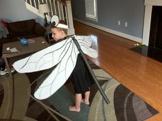 Cameron's Dragonfly Costume by brentmc79, via Flickr