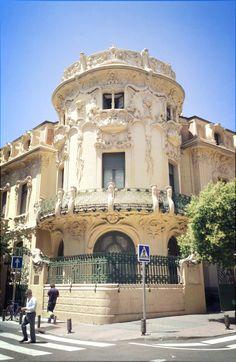 Palacio Longoria, Art Nouveau, Architect Grases Riera, Madrid, Spain