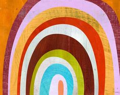 Abstract Arch Design by Melanie Mikecz