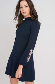 Hímzett pulóver-ruha | ORSAY