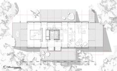 Gallery of House / Teke Architects Office - 19 Architecture Site Plan, Architecture Presentation Board, Residential Architecture, Workspace Design, Office Interior Design, Site Plan Rendering, Office Plan, Modern Architects, House Roof