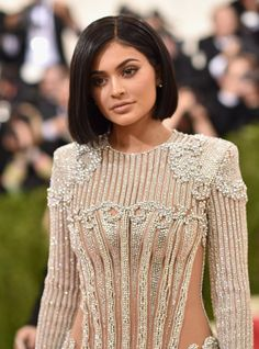 Pin for Later: See Every Elegant Beauty Look From the Red Carpet at the Met Gala Kylie Jenner
