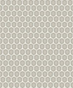 Honeycomb Neutral wallpaper by SketchTwenty 3