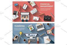 Financial concepts. UI Elements