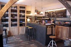 La Cave de Septime, du bon vin et de la bonne cuisine, tout simplement. crédit photos : Vanessa Houpert.