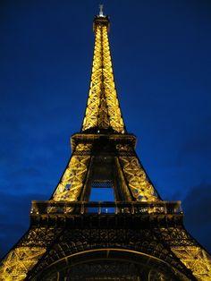 """Eiffel Tower at Dusk"" by Blake Weber, via 500px."