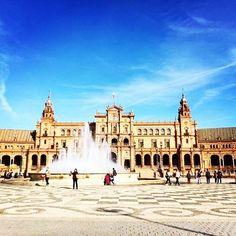Plaza de España in Seville, filming site for Game of Thrones