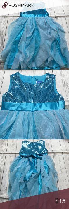 Disney Girls Size 5 Princess Dress Like new! Disney Princess Dress Light Blue. Disney Dresses Formal