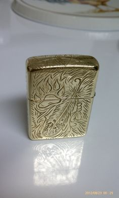 Full Coverage Zippo Lighter by DeMichels on Etsy, $350.00