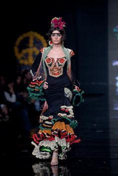 Traje de Flamenca - Aurora-Gavino - Simof-2009