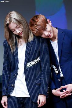 Jeonghan and Joshua