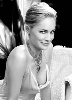 Sharon Stone by Firooz Zahedi