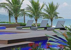 Jardim tropical a beira-mar projetado por Alex Hanazaki (Foto: Divulgação)
