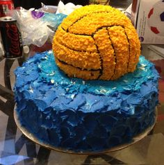For my birthday I want this cake!!! Water Polo for life!!!