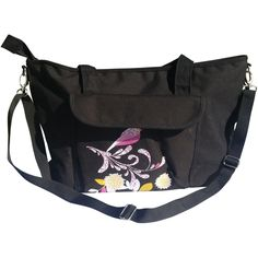 Uptown Crossbody Purse in Black