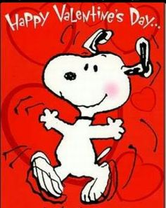 Snoopy Dance for Valentine's Day