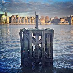 Wharf remains The Thames