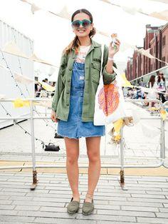 夏フェスファッション サロペット着たい♡