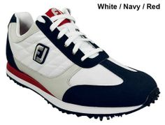 FootJoy FJ Street Golf Shoes 56446 Light Grey/Navy/Red Medium 9 by FootJoy. $89.99. The new FootJoy FJ Street golf shoes are designed bring all the benefits of an athletic sneaker and combine them with premium golf shoe technology. The result is a stylish & trendy athletic shoe with built in traction and stability that will perform on the course.  Footjoy FJ Street golf shoes provide un-rivaled comfort for the walking golfer. Features:Athletic mesh and nylon uppers provide li...