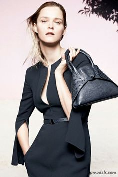 Carmen Kass for Akris Cruise 2014 Campaign - http://qpmodels.com/european-models/carmen-kass/5060-carmen-kass-for-akris-cruise-2014-campaign.html