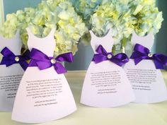 Forever Friends and special sisters of our past, present, and future deserve the most personalized request to be a part of your wedding party. These invitations are sure to show how much they mean to you and how your big day wouldn't be the same without them!    These bridesmaid dress cut out's are elegant and classy. A true keepsake for your special ladies.