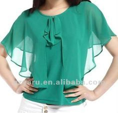 Plus size silk satin blouse manufacturer photo detailed about plus size silk satin blouse manufacturer picture on alibaba com Blouse Patterns, Blouse Designs, Shirt Bluse, Plus Size Shirts, Look Chic, Mode Style, Sewing Clothes, Fashion Outfits, Womens Fashion