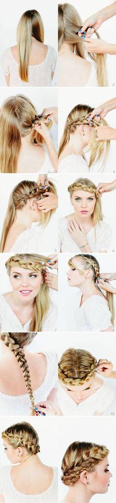 DIY Plait Braid Hairstyle DIY Plait Braid Hairstyle. Lyndzaaaayyy Garcia !!! Look!!