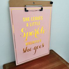 She Leaves a Little Sparkle Wherever She Goes by SubloadTravellers, $19.50