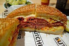Cochon Butcher in New Orleans  Hot Muffellata Sandwich #Lunch #Box lunch/Deli #Sandwich