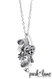 Intermix Necklace   Park Lane Jewelry This is one of my favorite necklaces.  The charms can be worn as a bracelet and there are many ways to wear this making it well worth your purchase! www.myparklane.com/srehner