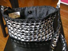 Small black bag.