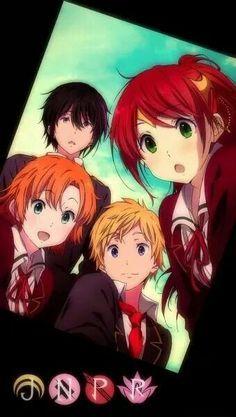 Rwby= team JNPR as hyouka characters Manga Anime, Rwby Anime, Rwby Fanart, Anime Art, Team Jnpr, Team Rwby, Miraculous, Red Like Roses, White Roses