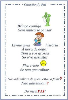 telemovelpara colorir - Pesquisa do Google Fathers Day Crafts, Special Day, Crafts For Kids, Daddy, Teaching, Writing, Education, Words, School
