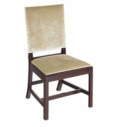 Emmett Upholstered Side Chair from the Thomas O'Brien collection by Hickory Chair Furniture Co.