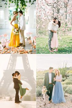 What to Wear For Engagement Photos Fashionable Spring Engagement Outfit Trends! Engagement Photo Outfits, Engagement Couple, Engagement Shoots, Engagement Photography, Engagement Pictures, Prenup Ideas Outfits, Pre Nuptial Photos, Quoi Porter, Outfit Trends