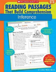 Inference (Reading Passages That Build Comprehensio) by Linda Ward Beech. $7.60. Publication: December 1, 2005. Publisher: Teaching Resources; 1 edition (December 1, 2005). Series - Reading Passages That Build Comprehensio