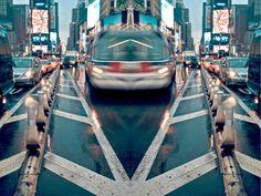 Bus Lanes by Bradford Johansen and *piratesofbrooklyn on deviantART