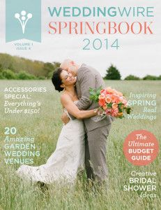 Introducing... (drum roll please)... WeddingWire's SpringBook 2014! Filled with spring wedding inspiration from Wedding Pros across the nation - Check it out here: http://wed.li/springbook2014