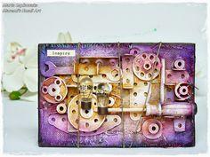 Finnabair Creative Team Member and few private words / Druzyna projektowa Finnabair oraz kilka slow prywaty Canvas Collage, Collage Art Mixed Media, Mixed Media Canvas, Canvas Art, Grunge, Small Art, Texture Art, Art Tutorials, Altered Art
