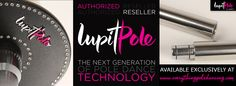 Check out these beautiful new poles! Precision engineered from 42m stainless steel with no joints to stick! Amazing! www.everythingpoledancing.com/category/lupit