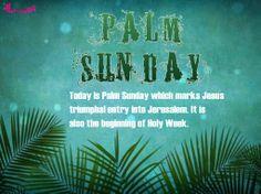 Holy Week Palm Sunday Quote Image