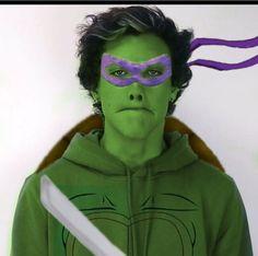 Turtle man Ethan!