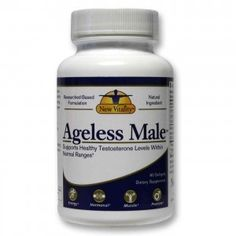 Ageless Male is a testosterone supplement for over 40 years of age men. It increases the T-levels by minimizing the conversion of testosterone into the DHT.