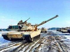 M1A2 of 1-8 Inf,3rd BCT,4th ID(US Army photo)