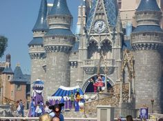 DISNEY: Magic Kingdom: The first of the 4 theme parks to open at Walt Disney World Resort, Magic Kingdom park captures the enchantment of fairy tales