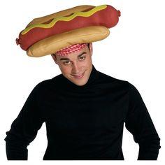 50f4ec2d Halloween Adult Hot Dog Hat Costume Accessory, Adult Unisex, Tan