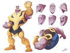 ArtStation - Thanos, Valerio Buonfantino