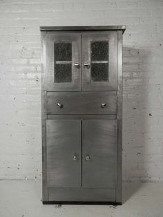 Industrial Metal Double Tier Locker Unit | Modern cabinets ...